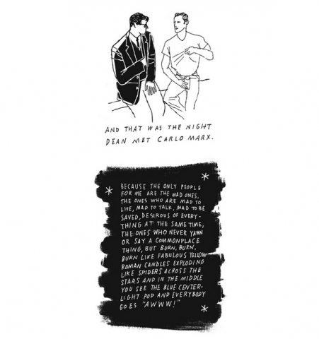 Jack Kerouac's On The Road Illustrated is The Best Thing Ever