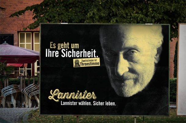 Elections in Germany Remixed With Game of Thrones Characters