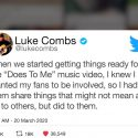 Luke Combs – Does To Me (Official Video) ft. Eric Church
