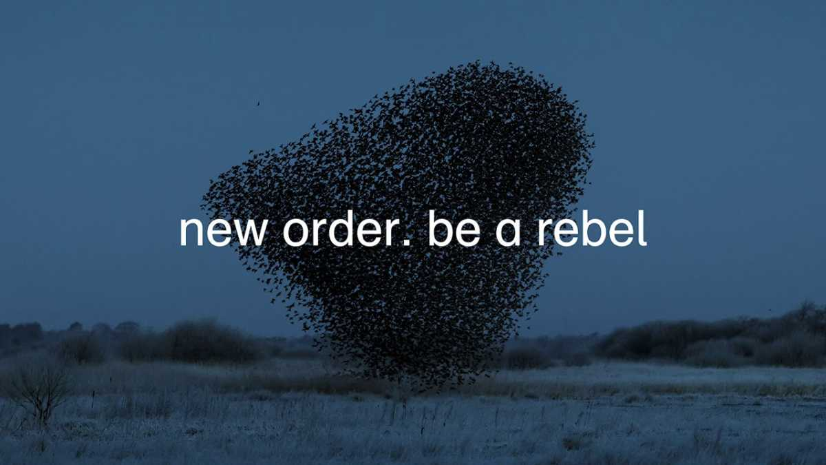 New Order – Be a Rebel