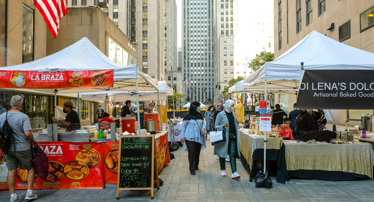 """""""Safe Outdoor Markets Can Serve As A Nostalgic Band-Aid For Now"""": Queens Night Market Returns To Rock Center"""