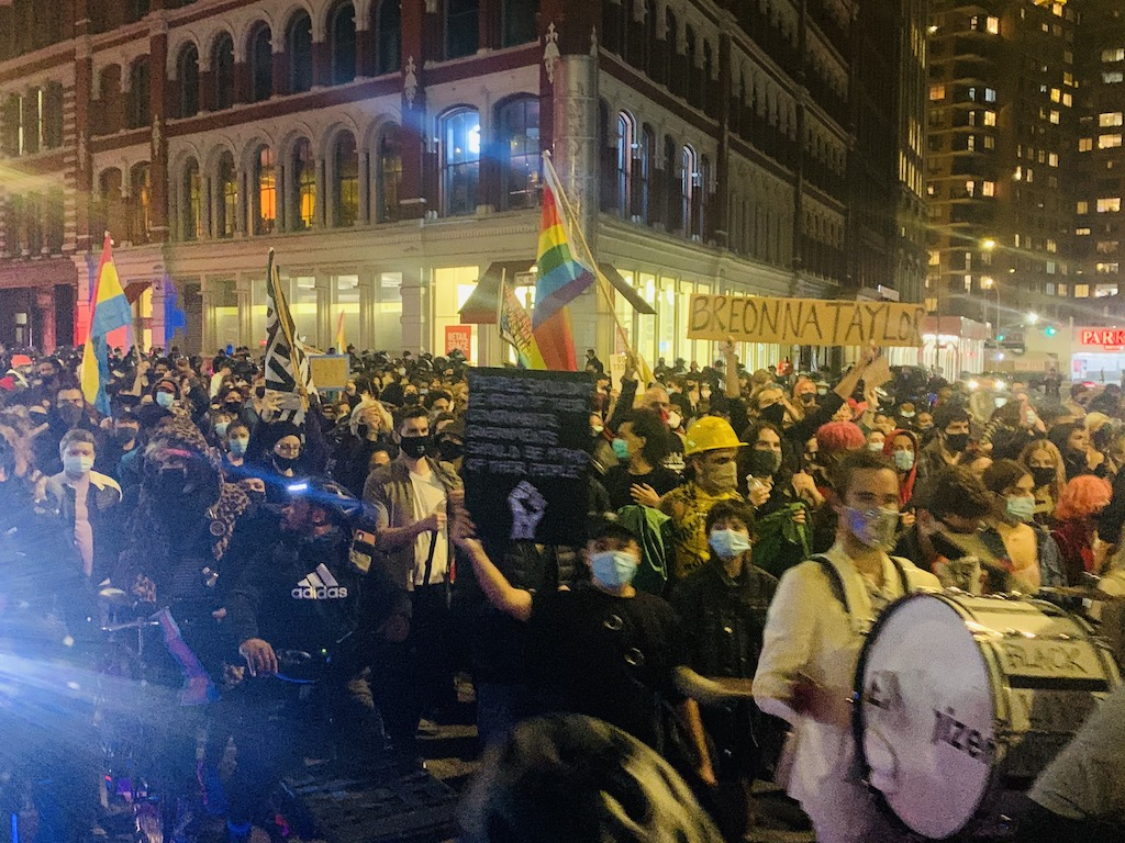 Police Scuffle with Activists Amid Calls For Black Trans Liberation